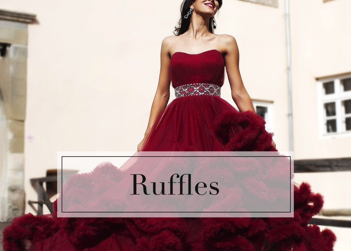 Ruffled Dresses